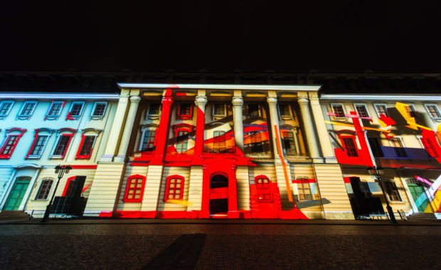 Genius Loci Weimar Video Mapping Competition 2013