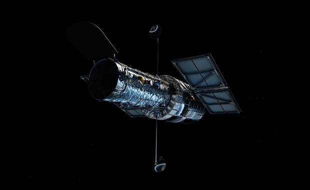 ESA-Hubble-Orbit-Earth-M-Kornmesser-Artist-Impression
