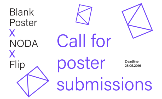 Blank-Poster-NODA-Flip-Poster-Exhibition-Competition