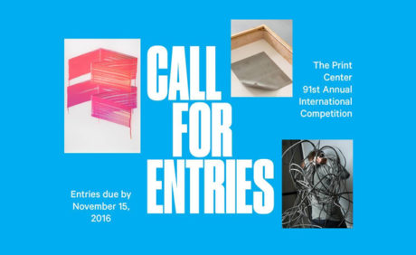 The Print Center's 91st Annual International Competition