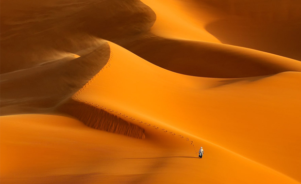 The-Lone-Tuareg-Marsel-van-Oosten-2016-EPSON-Digital-Art-Prize-1st-Place