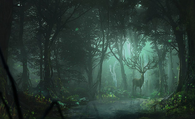 Masahiro-Sawada-Mononoke-CGTrader-Digital-Art-Competition-2018