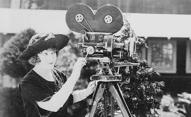 May-Allison-with-movie-camera-57th-Ann-Arbor-Film-Festival-AAFF