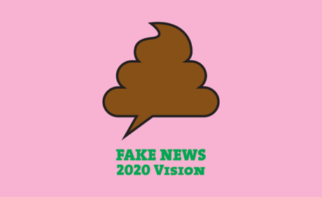 Poster for Tomorrow 2020: Fake News – 2020 Vision