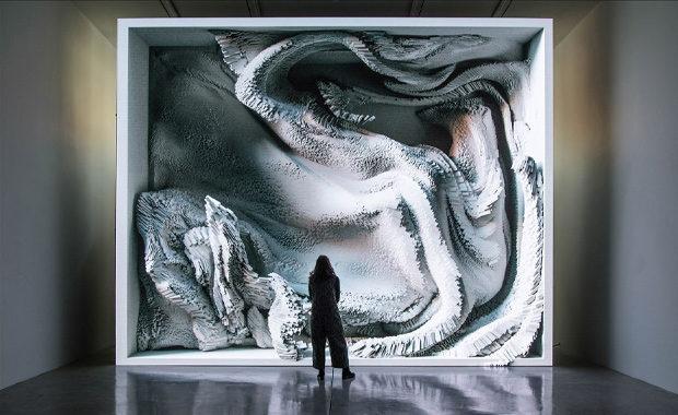 Melting-Memories-Refik-Anadol-Lumen-Prize-Art-Technology-2019